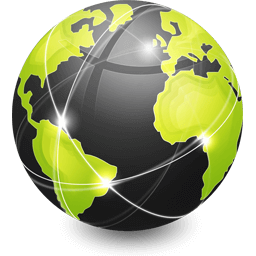 Sieć wokół planety Ziemia