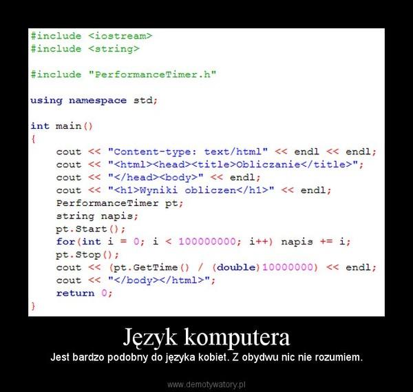 Fragment kodu C++