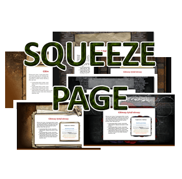 Logo Squeeze Page