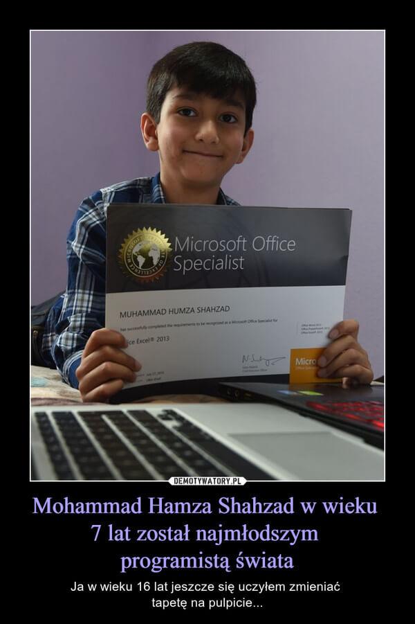 Demot o najmłodszym programiście świata