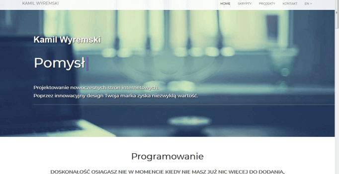 Zrzut ekranu ze strony wyremski.pl