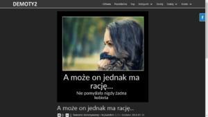 Skrypt dla strony z demotywatorami i memami Demoty2