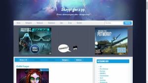 Szablon darkcastle dla skryptu do gier z programów partnerskich